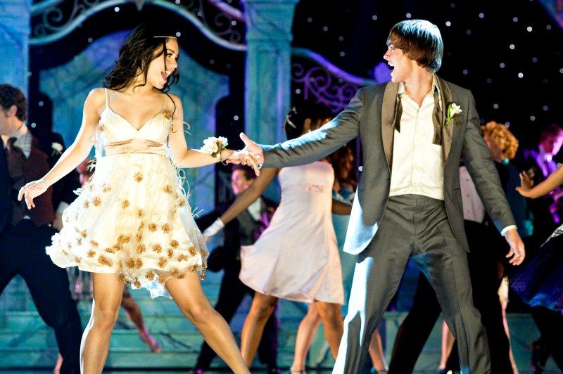 Gabriellas prom dress in hsm3 | Color dress | Pinterest | Best ...