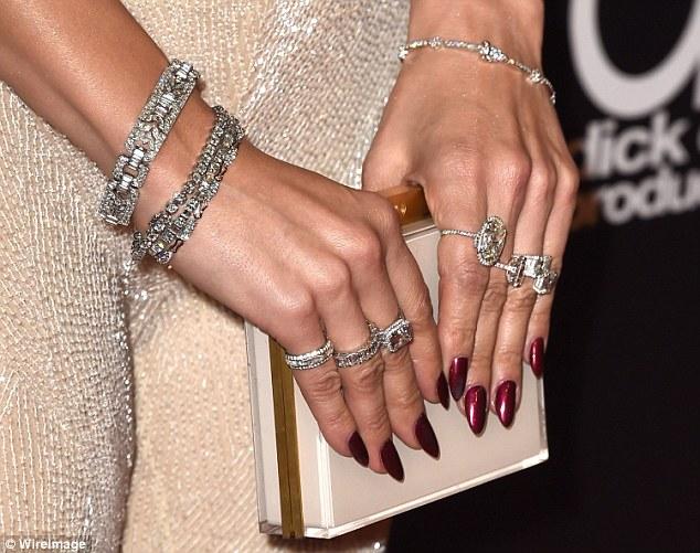 Top 10 Celebrity Nails Art Designs | Playbuzz