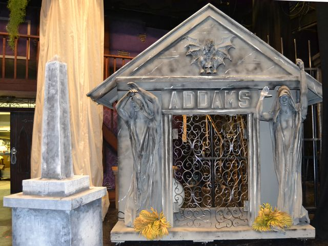 a gothic addams family set
