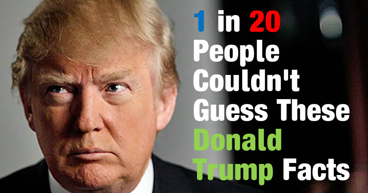 people donald trump trivia