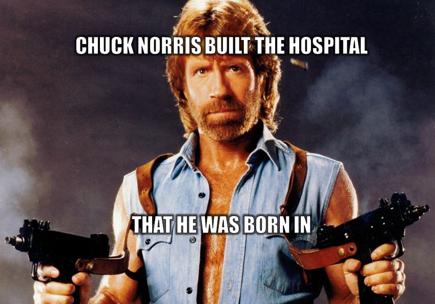 pick the best chuck norris fact  playbuzz, Birthday card