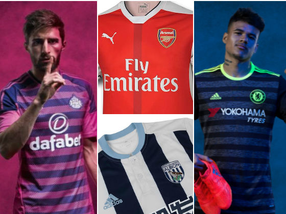 official photos 20dd3 687b8 Who's got the best and worst kits in the Premier League this ...