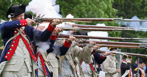 """a piece of revolutionary war history The revolutionary war was a war unlike any other—one of ideas and ideals, that shaped """"the course of human events"""" with 165 principal engagements from 1775-1783, the revolutionary war was the catalyst for american independence."""