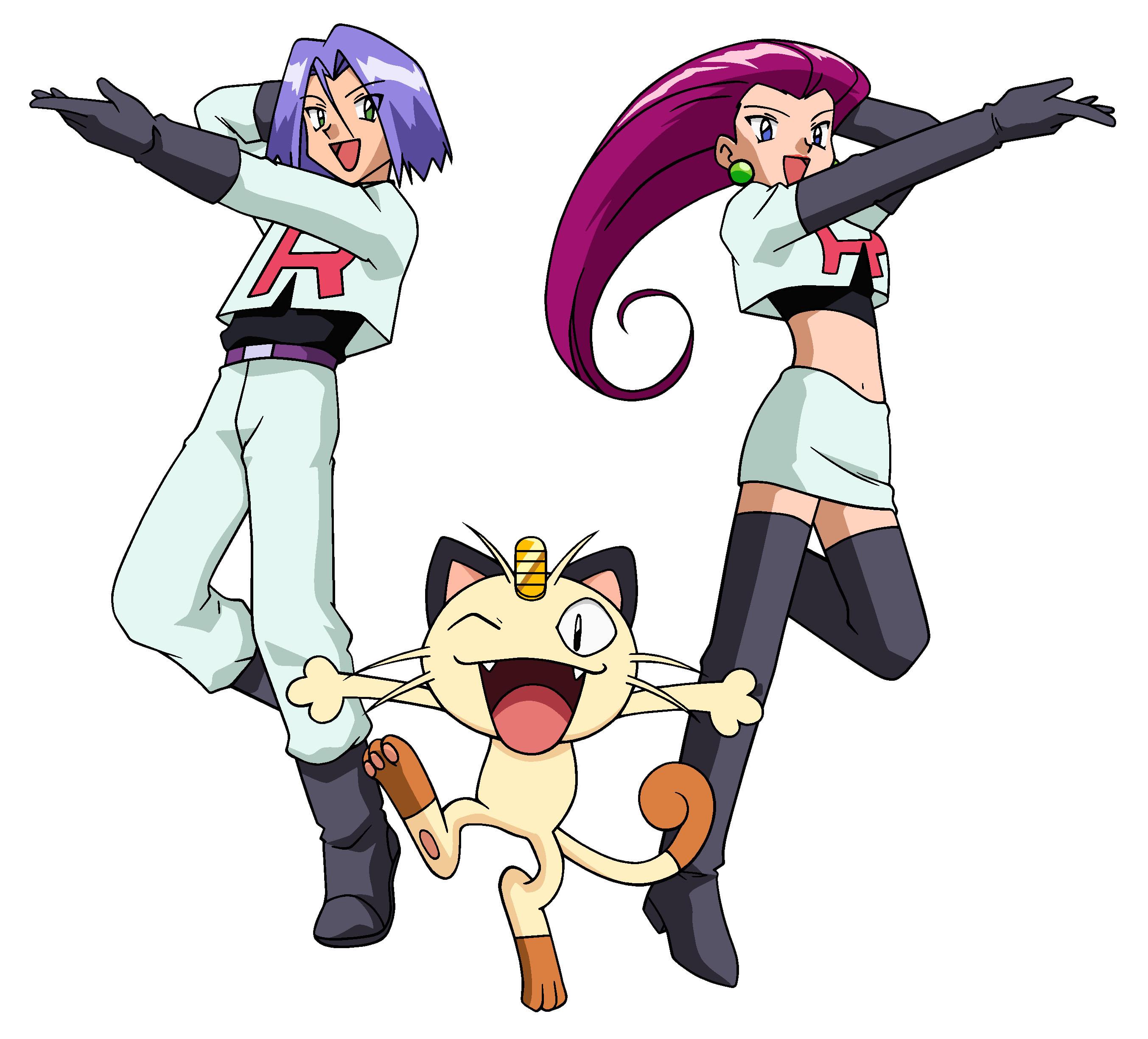 All hail pokémon villains james team rocket james