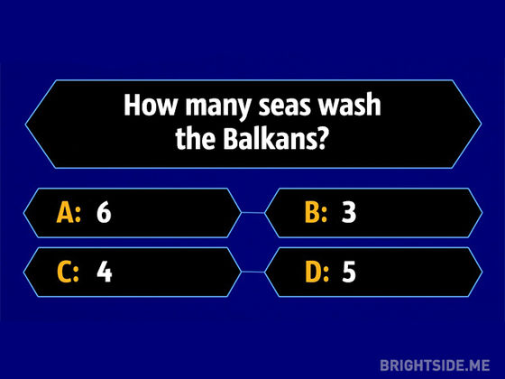 Can you answer these million-dollar questions from 'Who Wants To Be A Millionaire?'