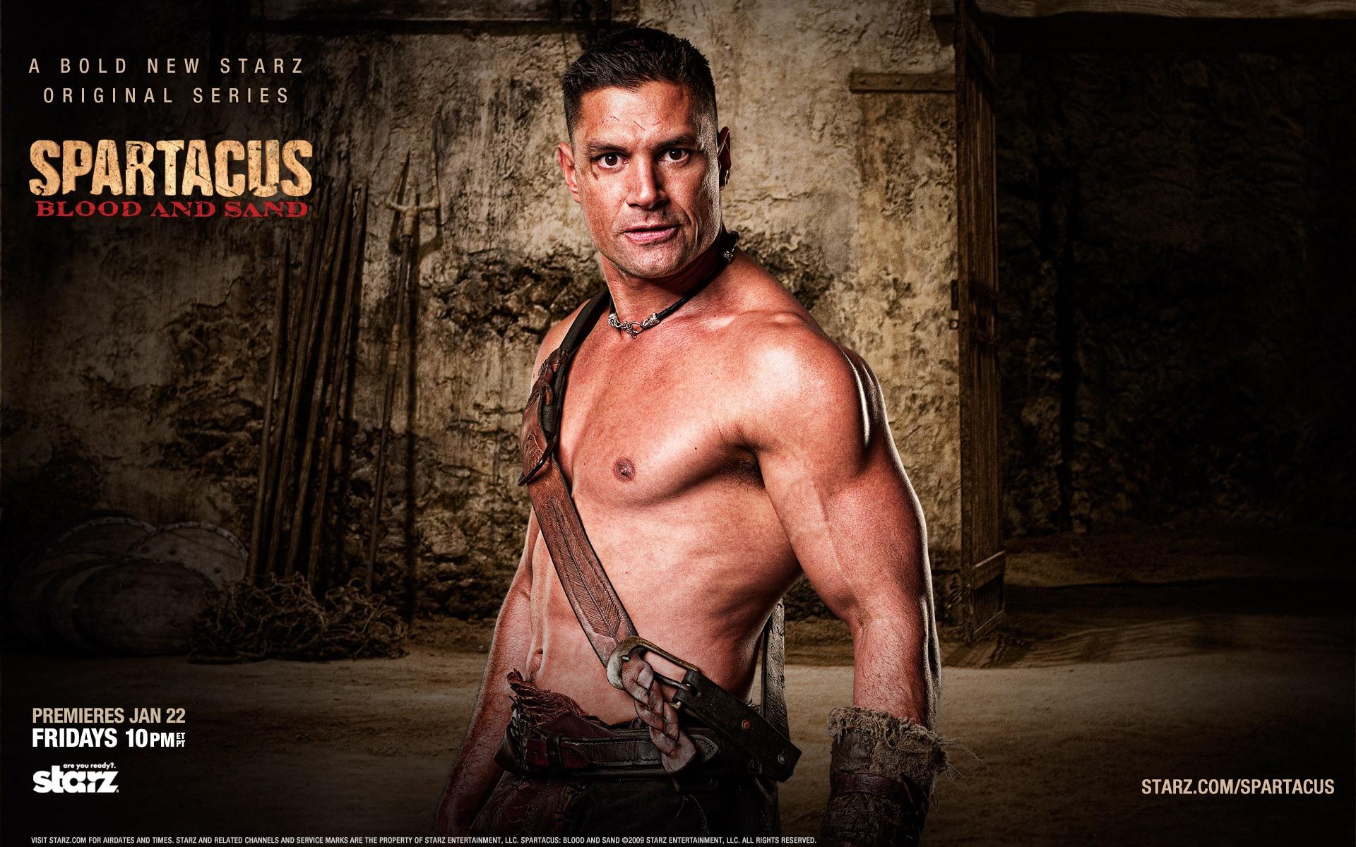 Agron Spartacus Wallpaper