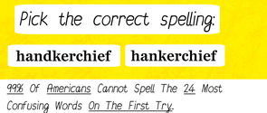 99% Of Americans Can't Spell The 24 Most Confusing Words On The First Try