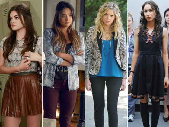 Pretty Little Liars Fashion Swiper Playbuzz