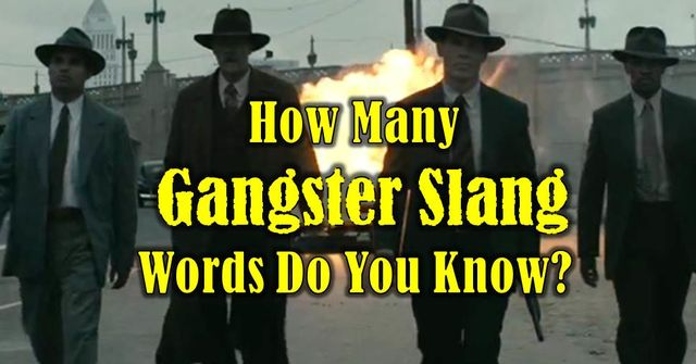 Gangster Terms