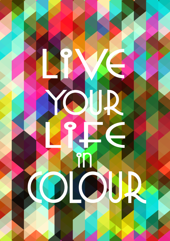 Color Your Life Quotes Prepossessing Plusthin