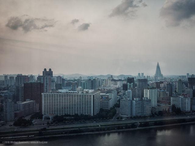 Η θέα από το Yanggakdo hotel