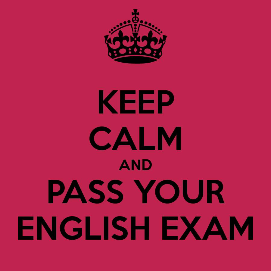 English Exam...?