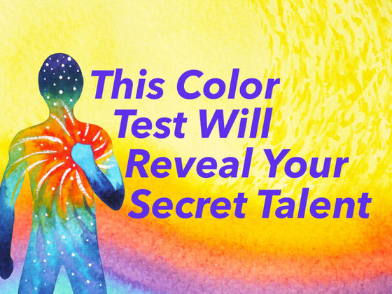 This Color Test Will Reveal Your Secret Talent