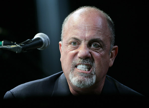 Billy Joel angry