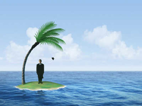 essay on being stranded on a deserted island