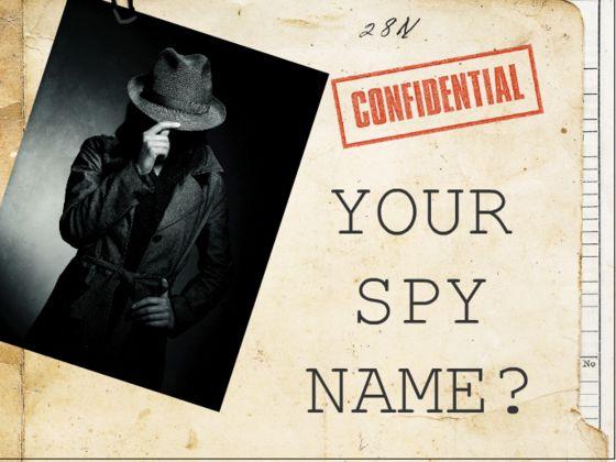 Cool female spy names