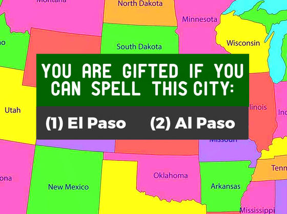 Only Gifted Americans Spelled ALL Of These 24 US Cities