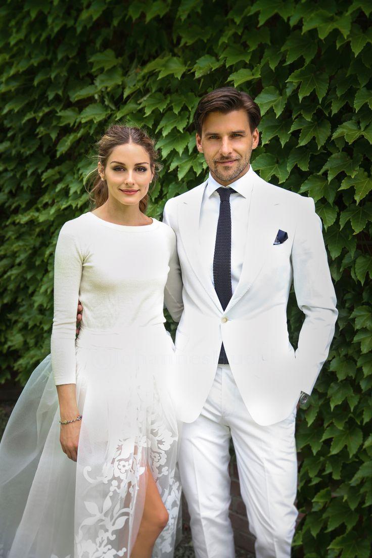 Groom Wearing White | Wedding Ideas