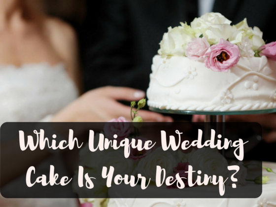 What Kind Of Wedding Cake Is In Your Future?
