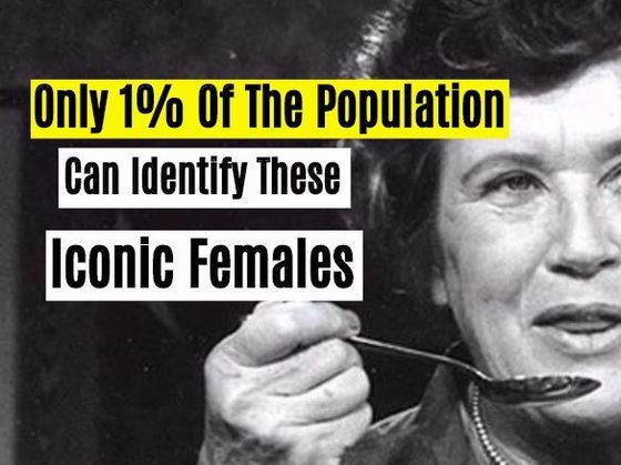 New Research: Only 1% Of The Population Can Identify These Iconic Females