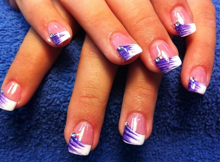 Purple nail tip designs choice image nail art and nail design ideas purple nail tip designs images nail art and nail design ideas purple tip nail designs image prinsesfo Image collections