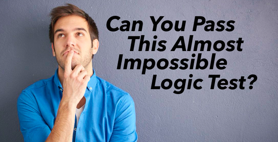 Can You Solve This Almost Impossible Logic Test?