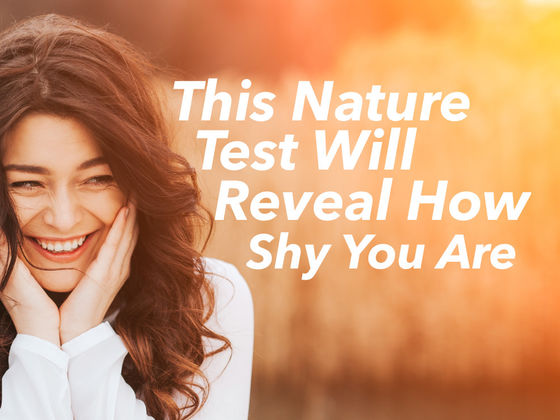 This Nature Test Will Reveal How Shy You Are