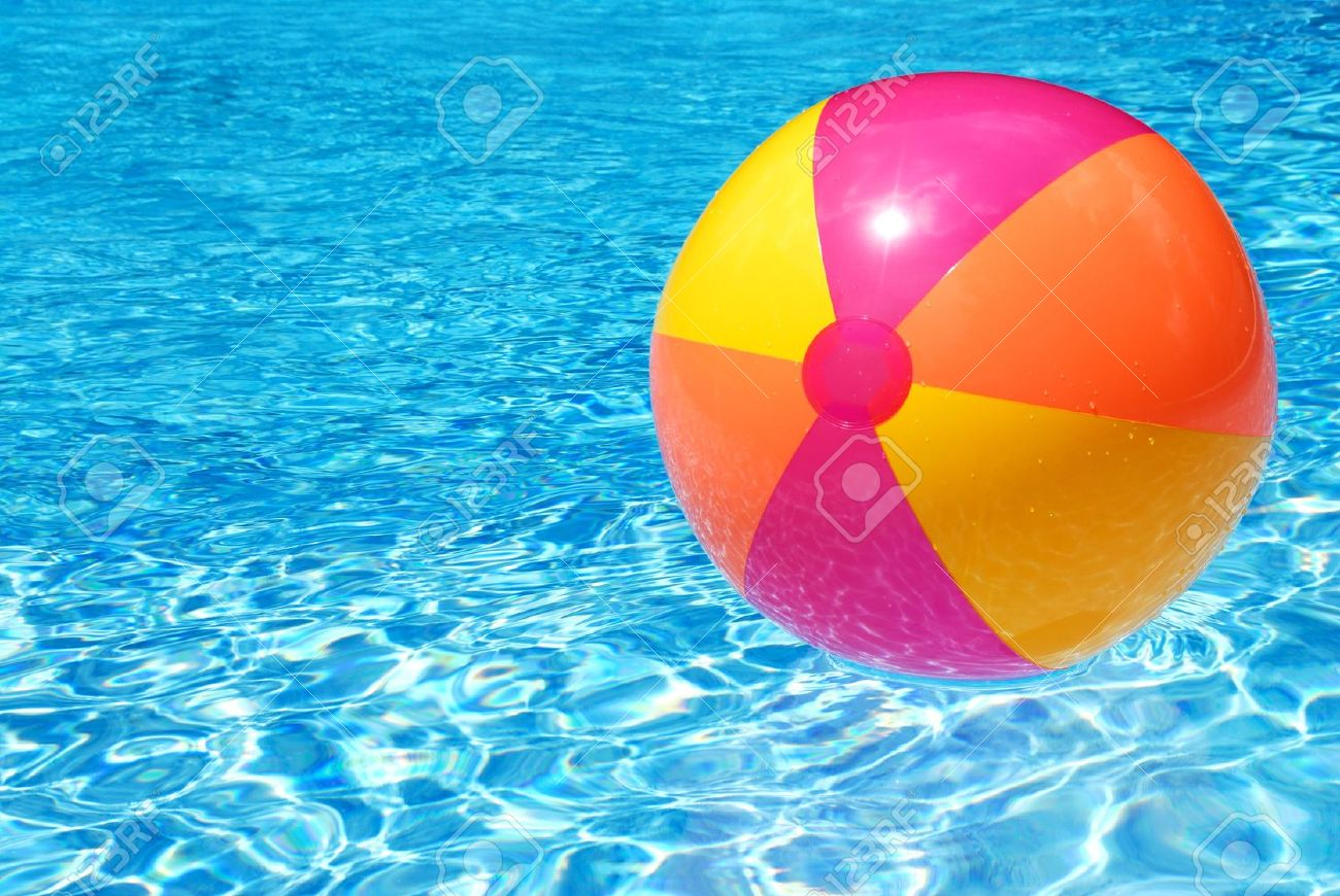 swimming pool beach ball background. Swimming Pool Beach Ball Background K