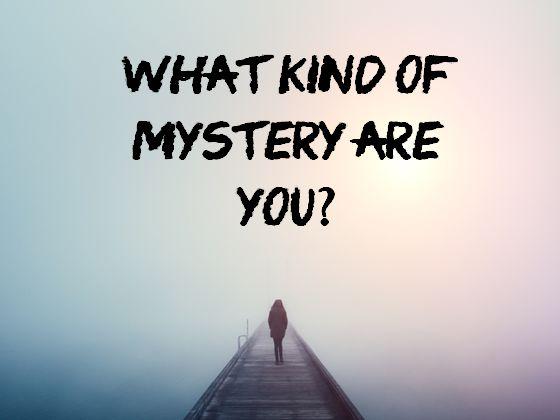 TESTE: Que tipo de mistério você tem?