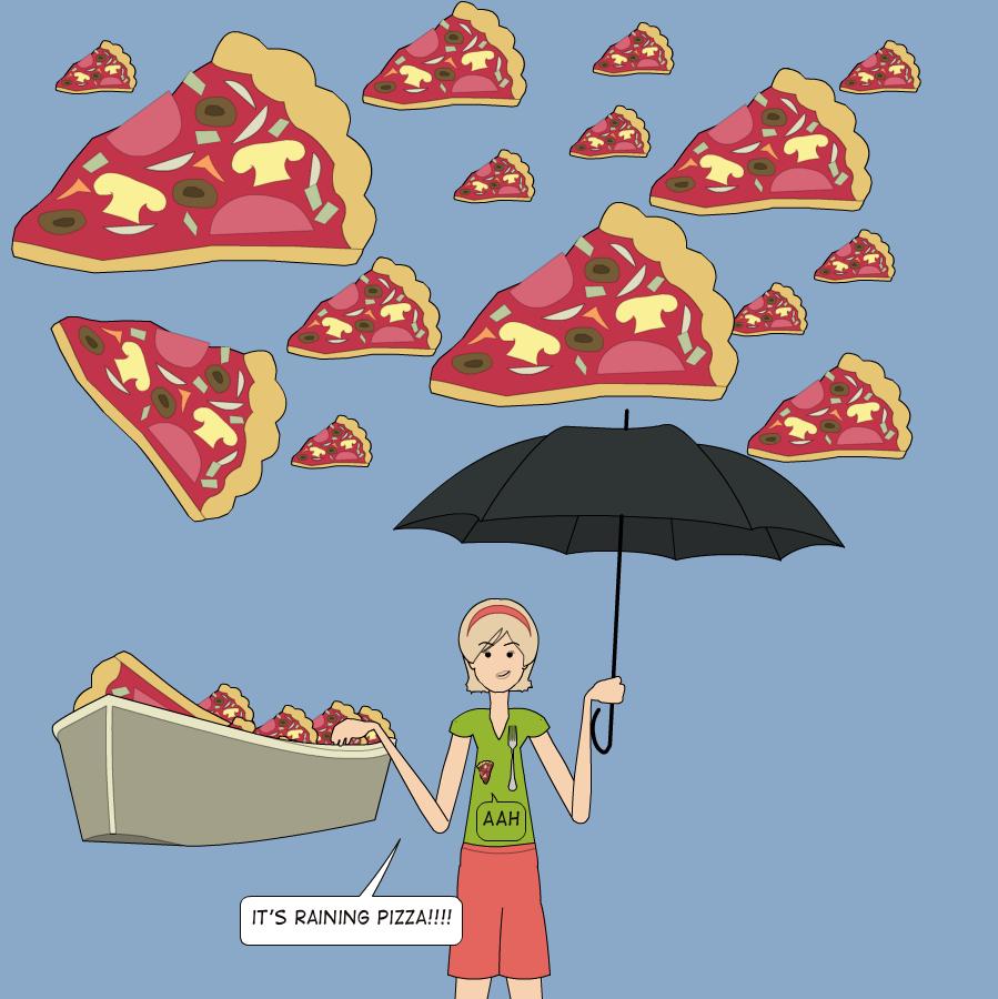 Its raining Pizza! - YouTube