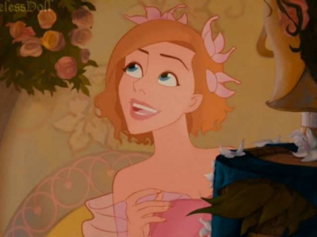 Disney characters with pink hair