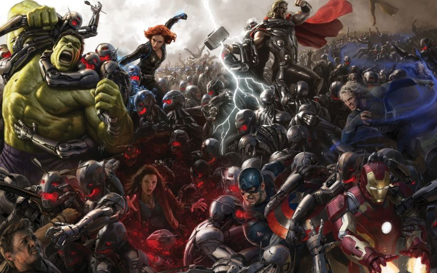 Which Avengers Age Of Ultron Ultron Marvel Avengers