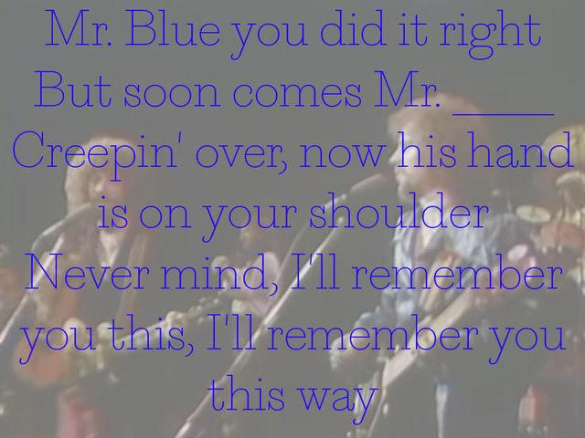 Images of Mr Blue Sky Lyrics - #rock-cafe
