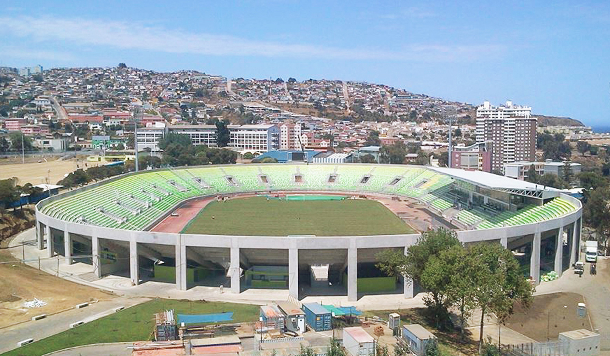 In Profile Stadiums At Copa America 2015