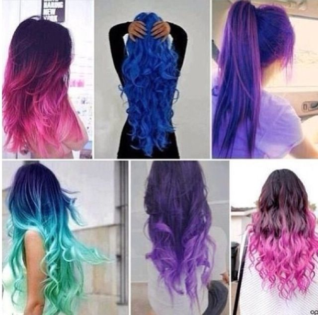 Unique Hair Colors And Styles Can We Guess What Hair Type You Have  Playbuzz