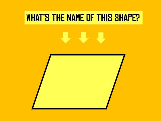 Can You Name More Shapes Than An 11 Year Old?