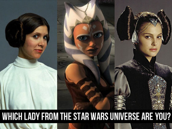 Which Lady From The Star Wars Universe Are You?