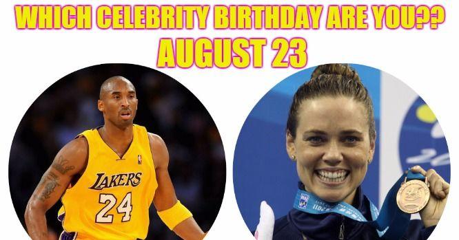Celebrity Birthdays August 23rd