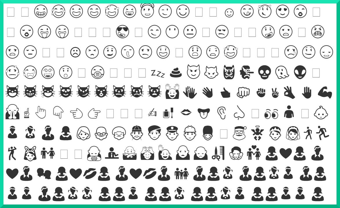 ausmalbilder emoji