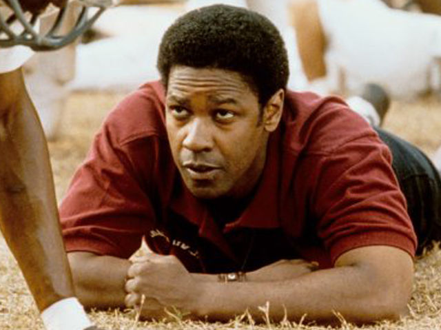 """remember the titans e j Herman boone, the tc williams high school football coach portrayed by denzel washington in the movie """"remember the titans,"""" spoke to a crowd of a few position, he felt bill yoast (who went 99-8 with five state championships in nine years prior at ej hayes) was more qualified to be the head coach."""
