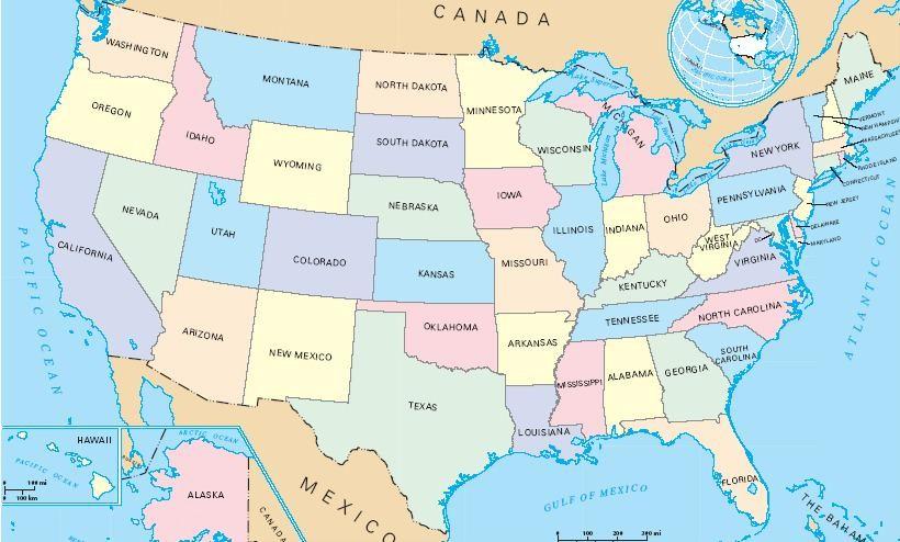 Map usa big