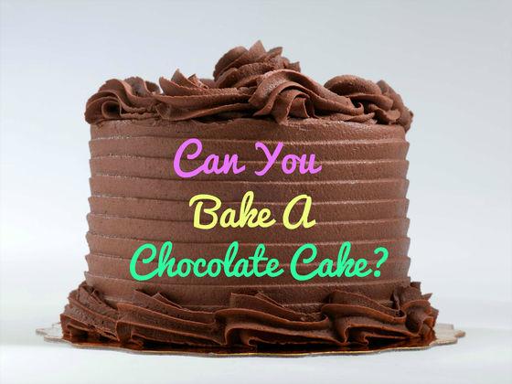 Chocolate Cake German Translation