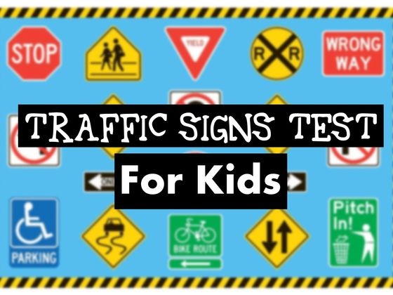 can you pass this traffic signs test meant for kids