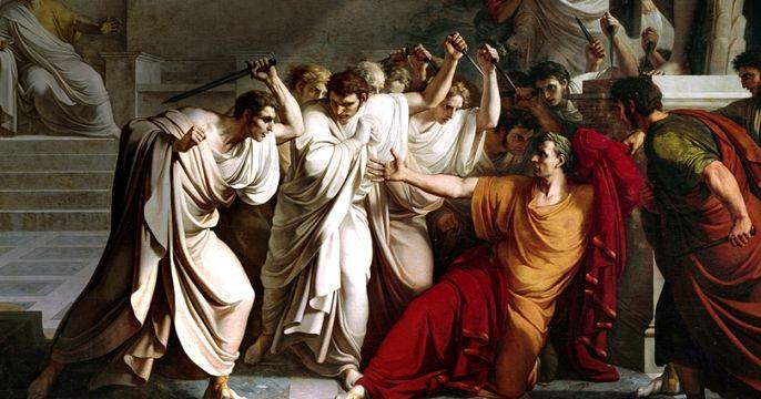 the factors contributing to the destruction of decius brutus