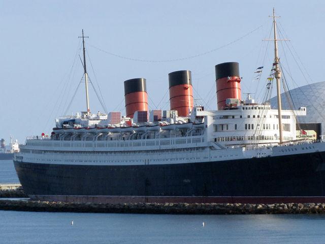 Το κρουαζιερόπλοιο RMS Queen Mary, Καλιφόρνια