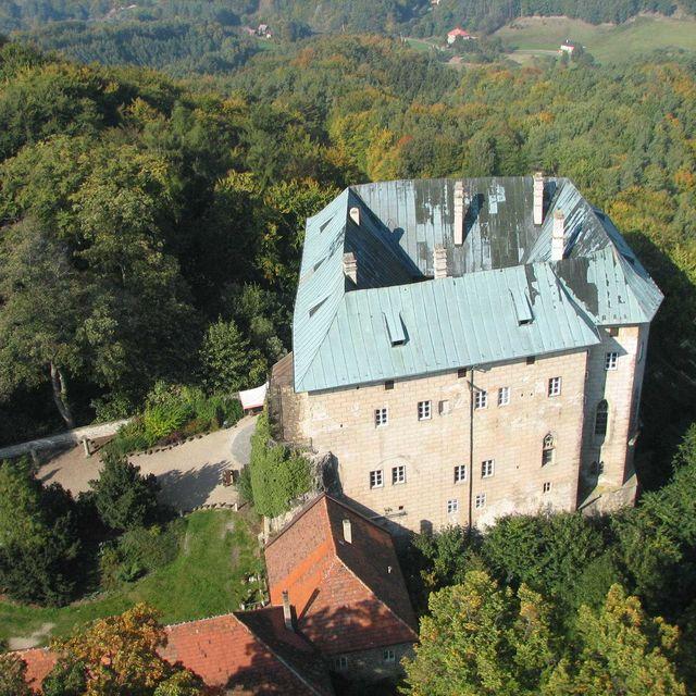 Το κάστρο Houska, Τσεχία