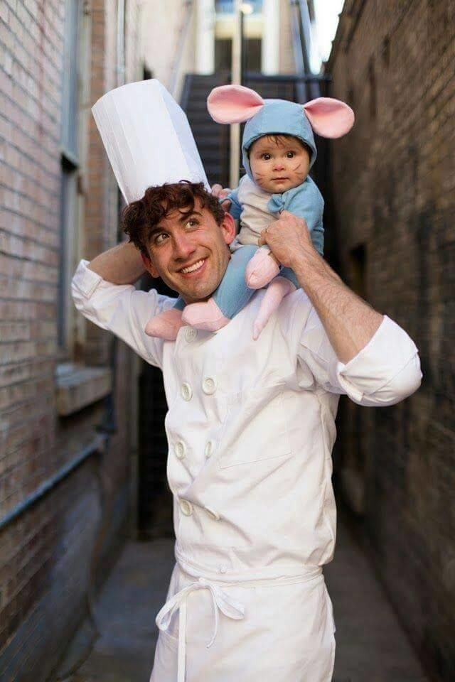 disfraces para papa e hijo