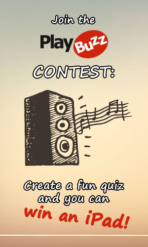 Lyrics quiz contest banner