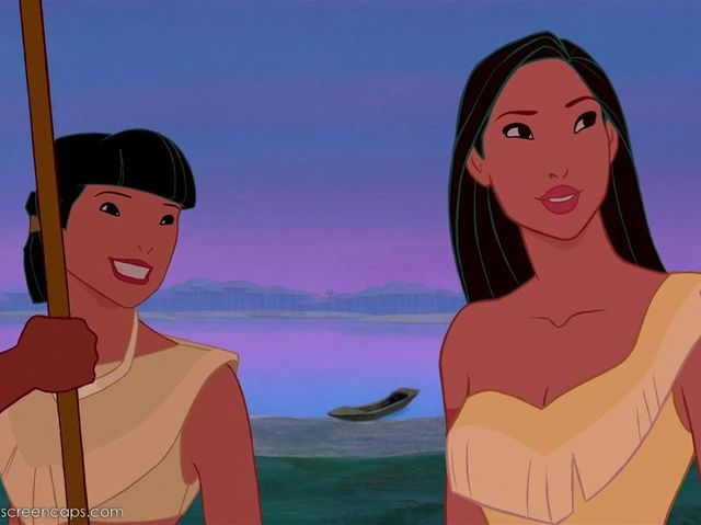 Pocahontas's best friend was named...