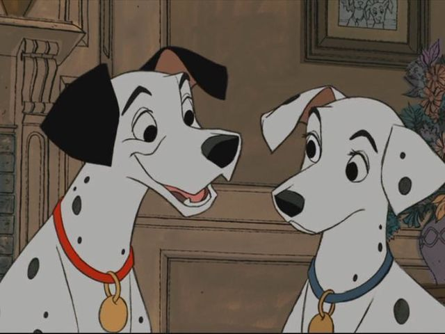 What's the name of the mother dalmatian in 101 Dalmatians?